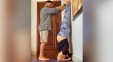 Pic: Husband Makes Pregnant Wife Upside Down