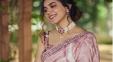 Pics: Varma Looks Stunning In Saree