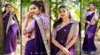 Pics: Hottest Sensation Seduces In Saree