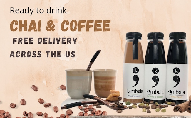 Ready-to-Drink Chai & Coffee Kit Delivered Nationwide