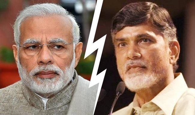 Is Naidu back to anti-Modi campaign?