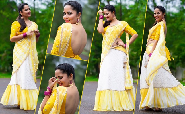Pics: TV Lady Glows In Yellow And White