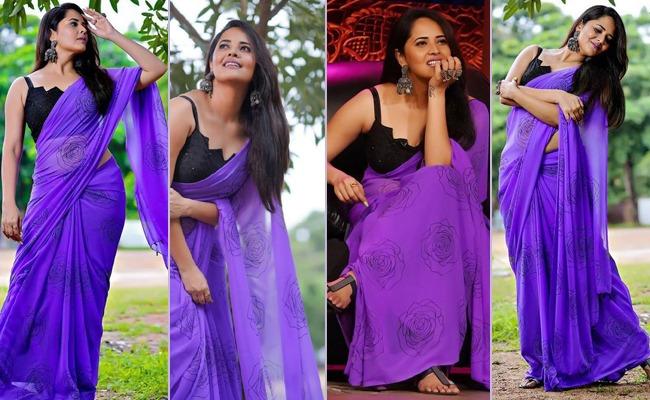 Pics: Tall Lady Looks Suave In Transparent Saree