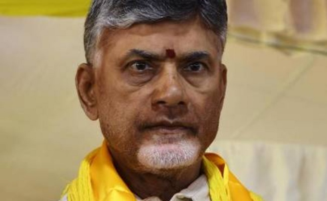 What Is Naidu Doing In Hyderabad?