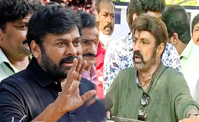 Balakrishna, Chiranjeevi come face-to-face on talk show 'Unstoppable'