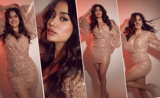 Pics: Beautiful Celeb Daughter In Shimmery Mini Dress