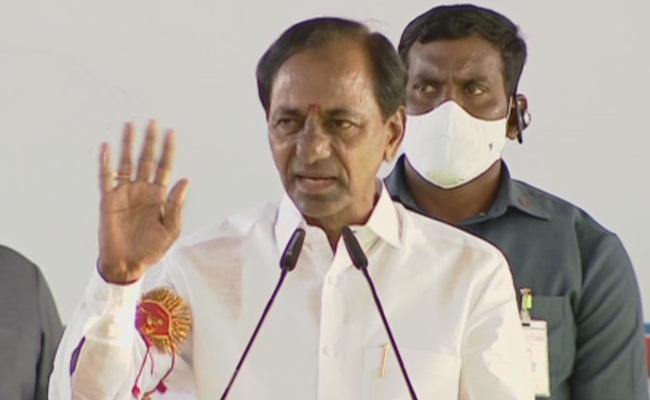 KCR: Playing to the gallery as usual