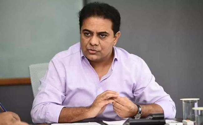 KTR challenges BJP leader over Central funds to T'gana