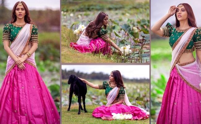 Pics: Nabha Shows Her Beautiful 'Nabhi'