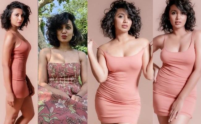Pics: Tejaswi Flaunts Curves in Bodycon Dress