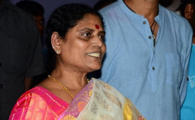 What's agenda for Vijayamma's Hyderabad meeting?