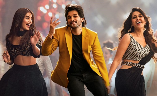 Allu Arjun's Song Emerges As Number One On YouTube