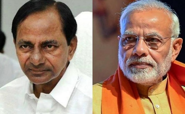 KCR angry with Modi for dumping his ideas?