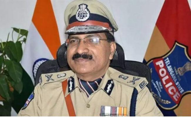 Telangana DGP denies reports about Covid-19 test