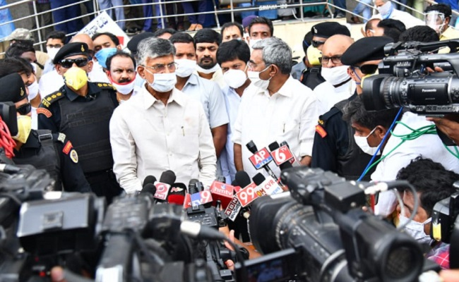 No Permission To Naidu To Call On Atchen