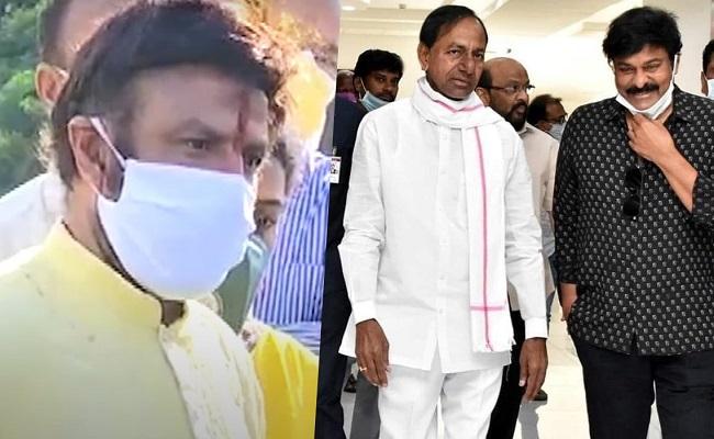 Balakrishna Used Beep Word On Chiranjeevi And Co