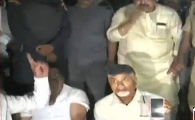 Macherla attack: Naidu enacts high drama!