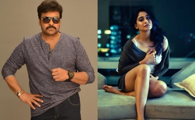 Chiranjeevi shakes a leg with Regina for new film