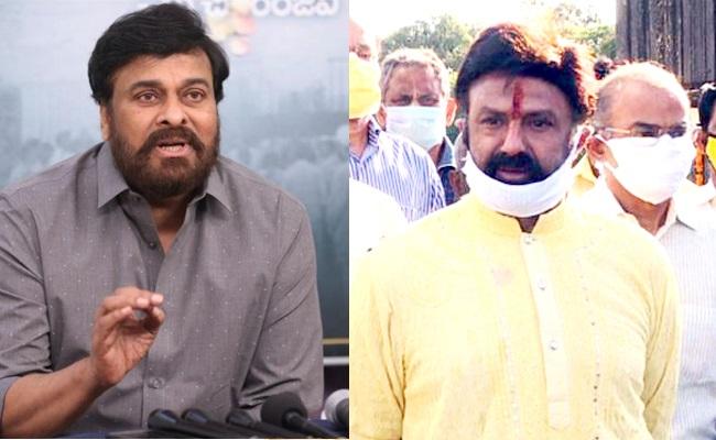 Buzz: Chiranjeevi and Balakrishna Cannot Go to Work!