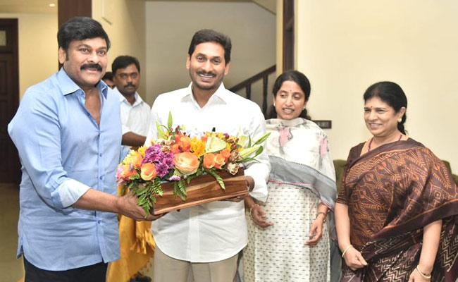 Chiranjeevi: 'I Cannot Forget Jagan's Hospitality'