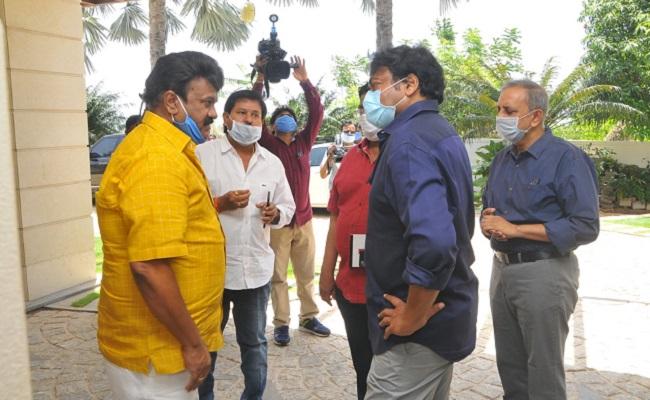 Green Signal: RRR - Acharya Trial Shoot