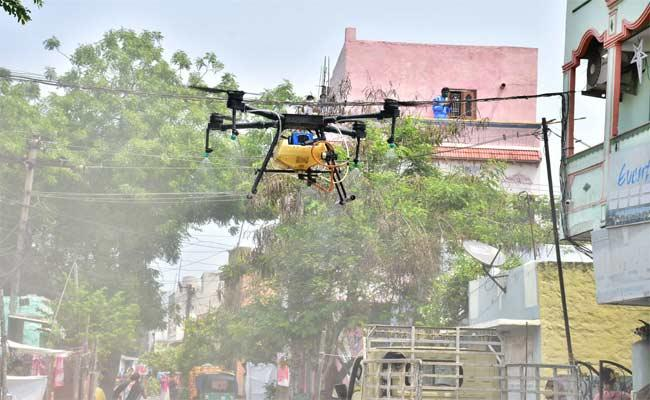 Cops using drones to track lockdown violators!