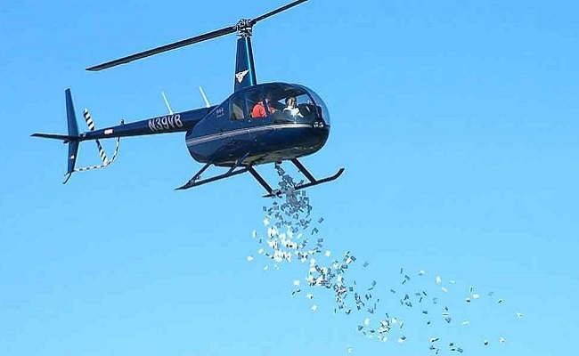 Talk on helicopter money triggers rumours!