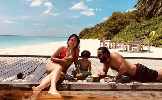 Pic: Hottest Wife Of Handsome Hero In Swimsuit