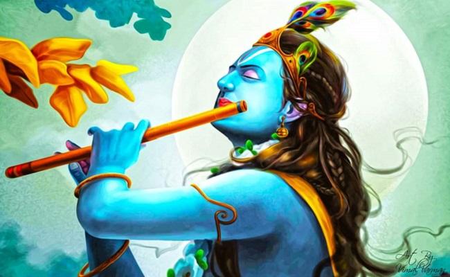 Lord Krishna's Funeral Vs Lockdown Time Deaths