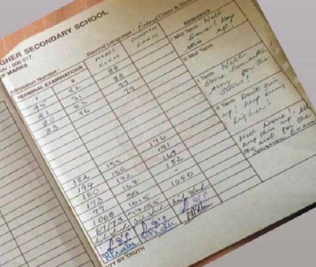 'Asset' Samantha shares her school report card