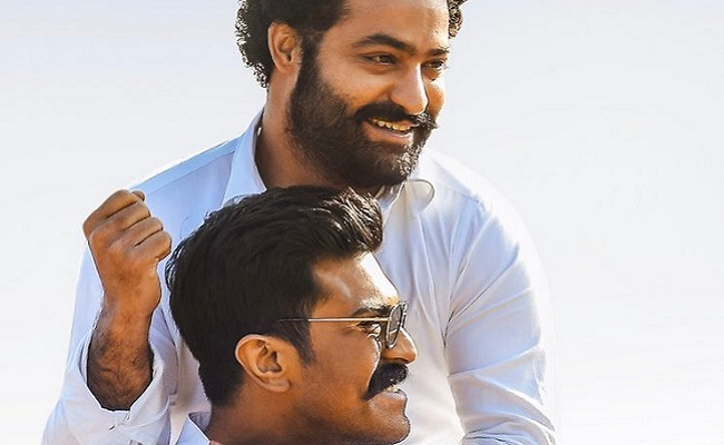 Pic Talk: Ram Charan Share A Candid Pic With NTR