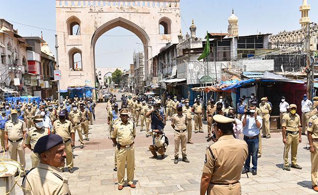 Telangana declares 'red zones' in Hyderabad