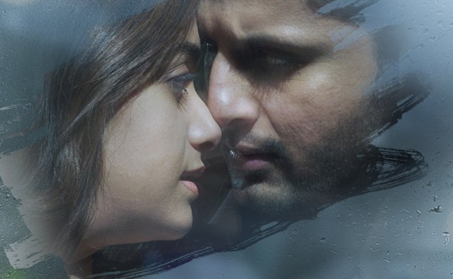 Rang De Motion Poster: Nithiin About To Kiss Keerthy