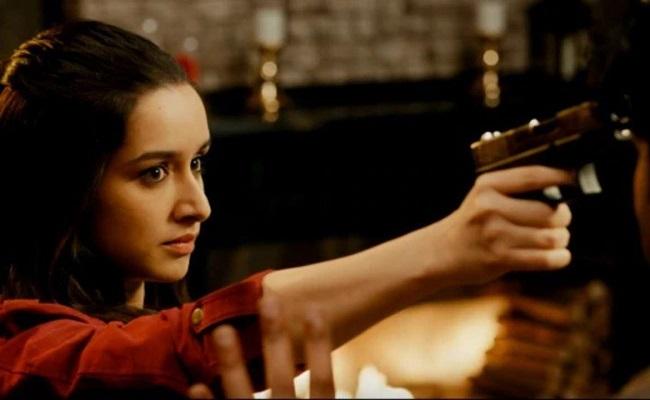 When Saaho Actress got too comfortable with a gun!