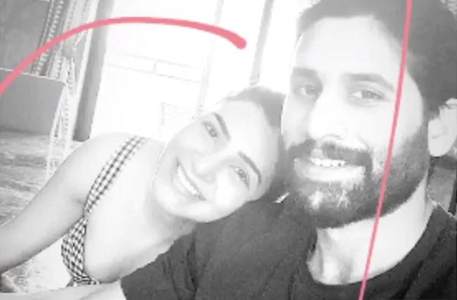 Samantha's Quarantine Selfie with Naga Chaitanya