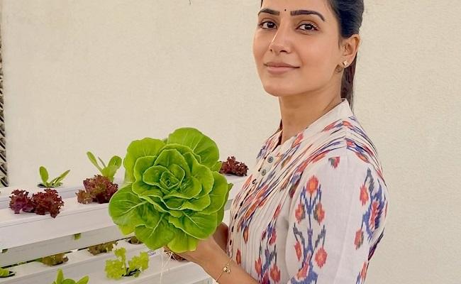 Pic Talk: Samantha Becomes An Urban Farmer