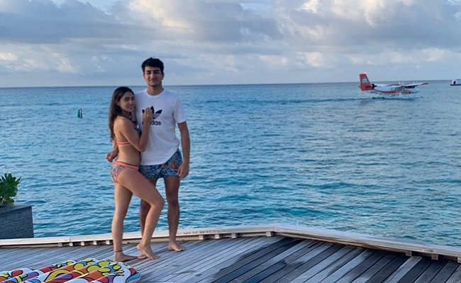 Sara Ali Khan wishes brother Ibrahim Ali Khan 'happy birthday' with unseen pics from their Maldives vacation