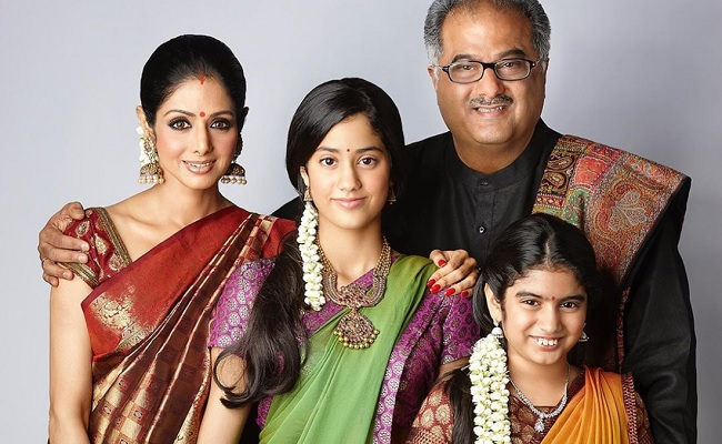 Throwback Pic Of Sridevi and Family Is Pure Love