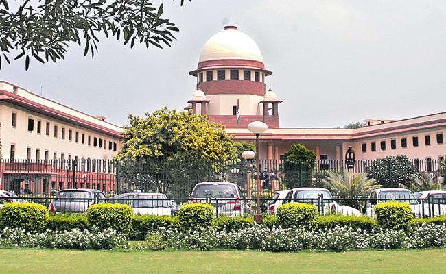No Party Colours For Govt Buildings: SC