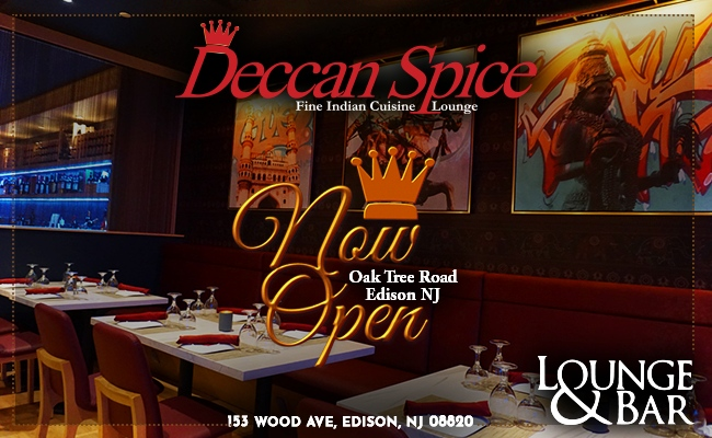 'Deccan Spice' Bar & Lounge in Edison, New Jersey
