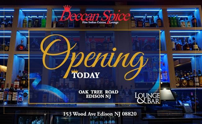 'Deccan Spice' Bar & Lounge Grand Opening - Edison, NJ
