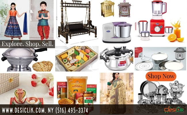 DesiClik.com - The Go To Indian Store Online in the USA