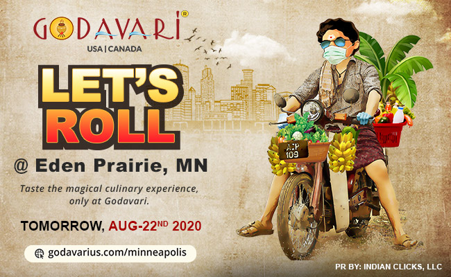 Godavari is Opening in Minneapolis in this New World