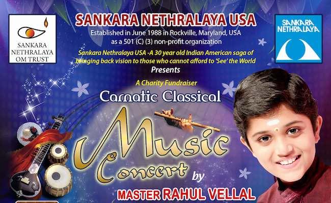 Sankara Nethralaya USA - Live Classical Music Concert