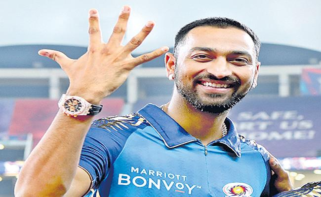 Krunal Detained At Mum Airport Over Rolex Watches