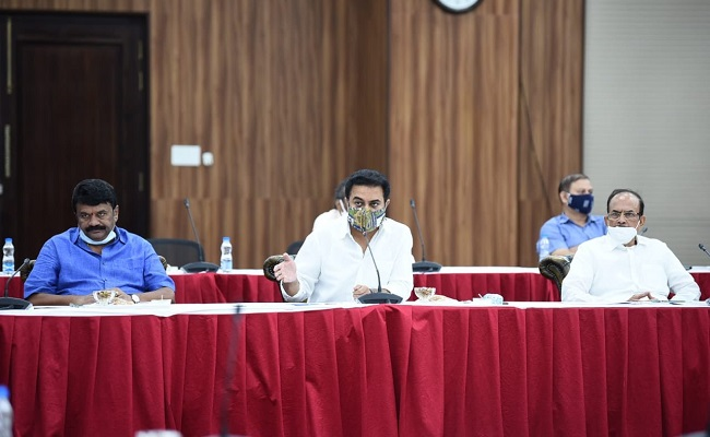 KTR Being Trained In Heading Cabinet Meet?