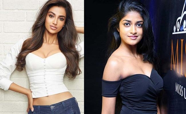 Meenakshi and Dimple for Ravi Teja