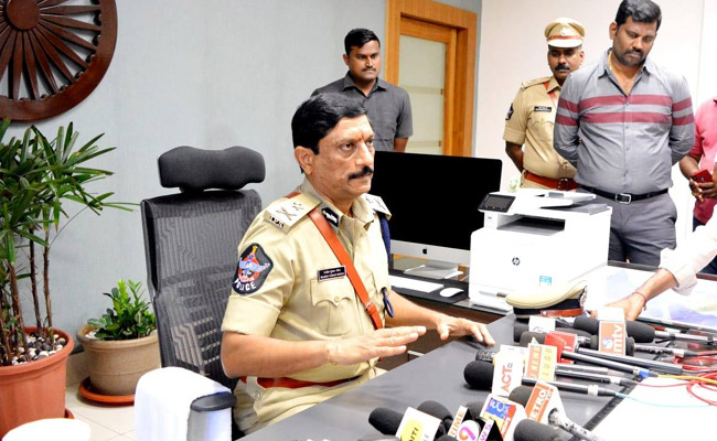 Why Was Meena Shifted As Vizag CP?