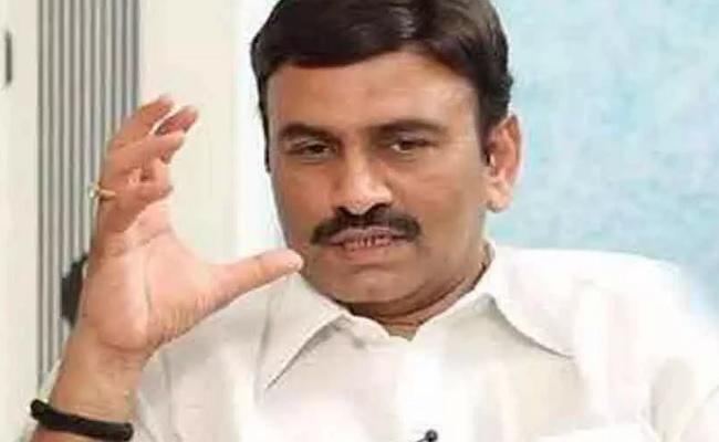Raju Ready For BJP Entry, As YSRC Set To Sack Him