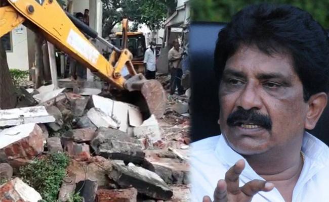 Naidu Defends Sabbam's Illegal Construction!